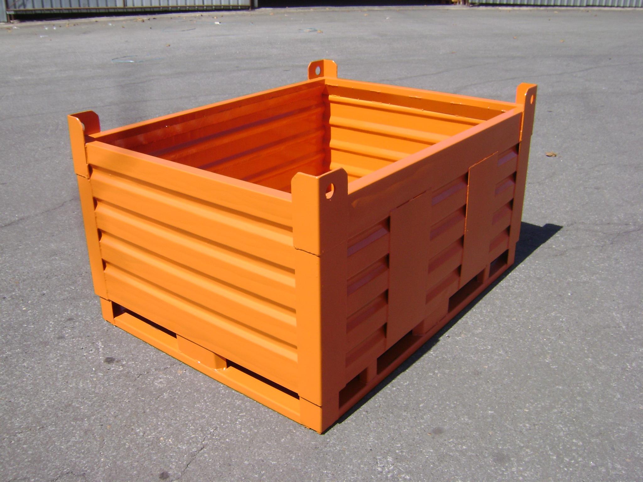 Caçamba 2000kg lateral - Comércio PALOMAR de Ferro e Aço LTDA