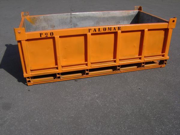 Caçamba GPJ - Comércio PALOMAR de Ferro e Aço LTDA