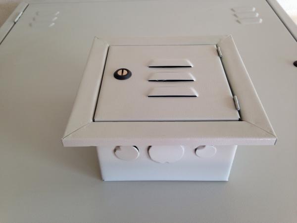 Caixa de Telefone 20 x 20 - Comércio PALOMAR de Ferro e Aço LTDA