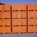Caçamba 2000kg empilhada - Comércio PALOMAR de Ferro e Aço LTDA